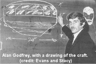 Alan Godfrey Drawing his Sighting