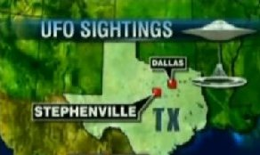 UFOs over Stephenville, Texas
