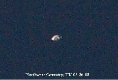 UFO photograph, Northwest Coventry, UK