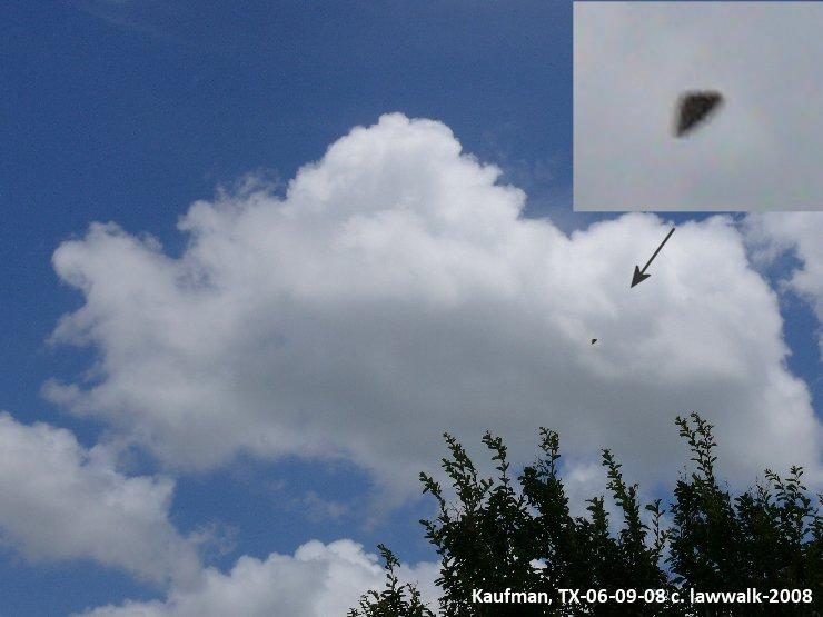 UFO Photograph, Kaufman, TX-06-09-08