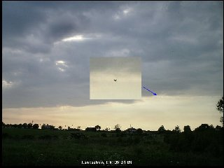 UFOs-Lancashire, UK
