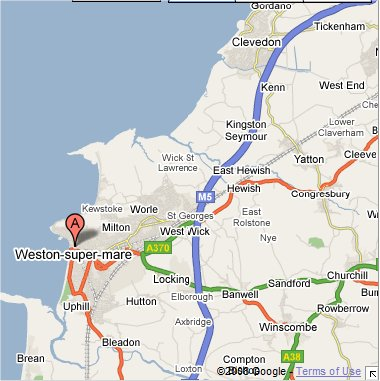 M5 Motorway sighting location-