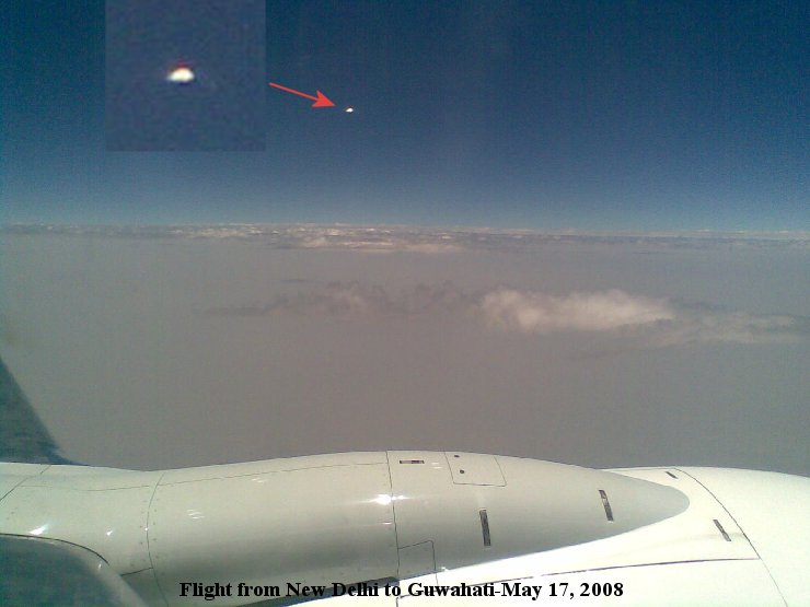 UFO Caught Flying Above India, UFO Sighting News