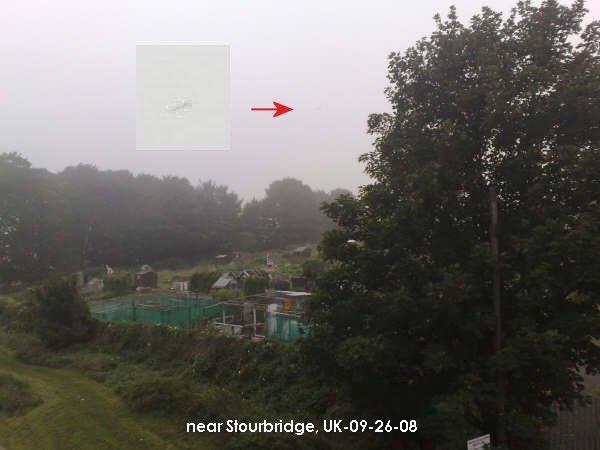 Stourbridge/England-UFO
