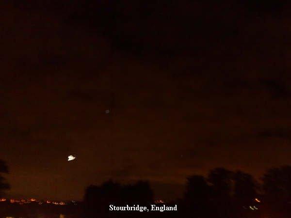 Stourbridge, England-UFO