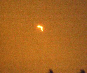 UFO over Stretford
