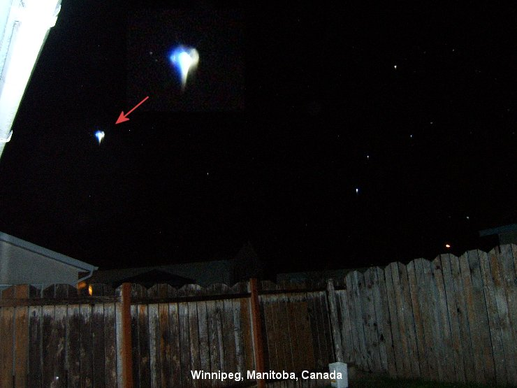 Winnipeg, Manitoba, CANADA-UFO