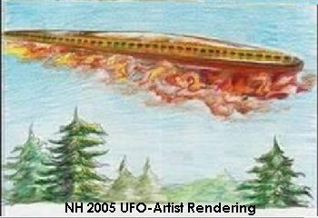 Artist Depiction of New Hampshire Sighting