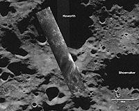 Moon, South Polar Region