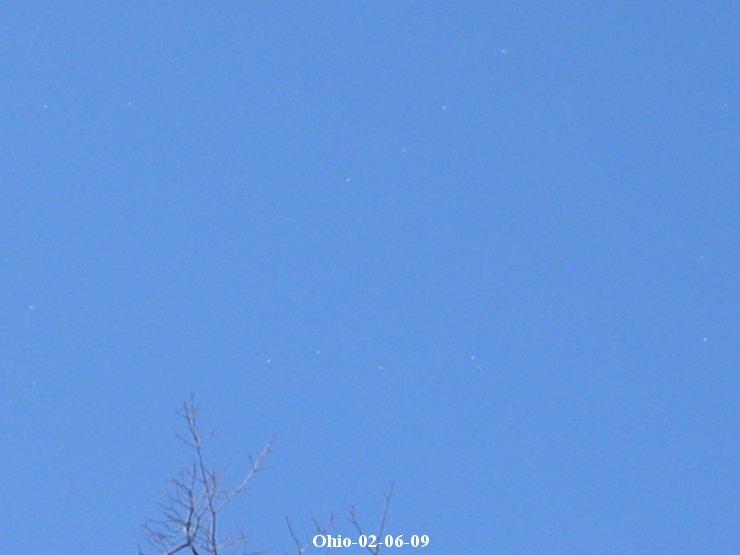 UFOs, Ohio, 02-06-09
