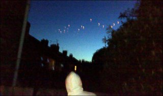 Mystery... bright objects light up night sky: Caters