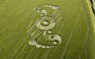 Recent Crop Design - Silbury Hill, Photo: APEX