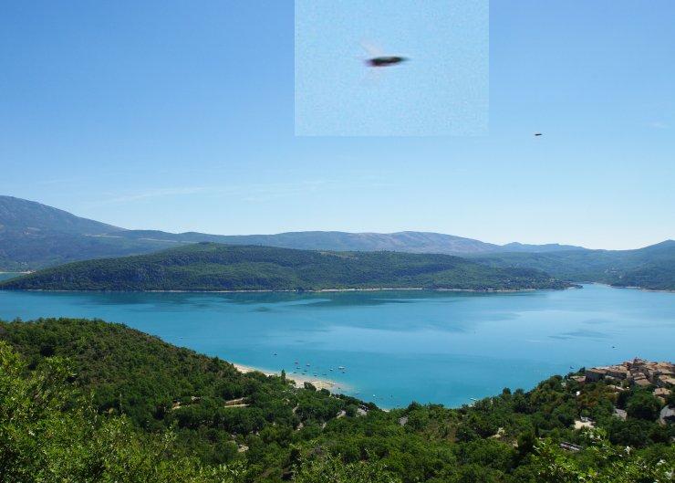 UFO - Alpes de Haute - Provence, France
