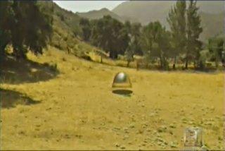 Depiction of Fuhr UFO