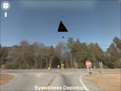 Two Witnesses See Triangle Craft Escorted By Stealth Over