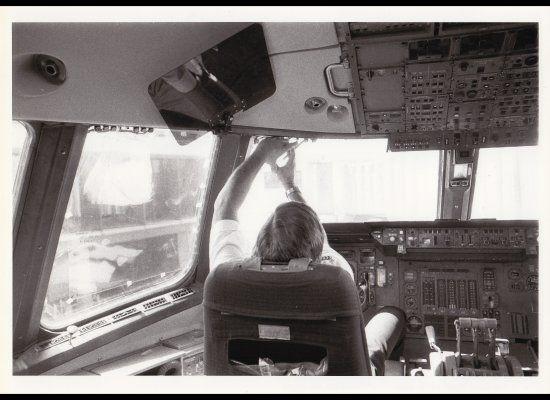 Schulz in Cockpit