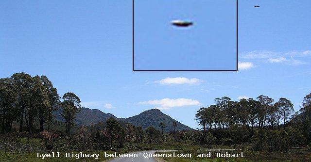 Tasmania - UFO?