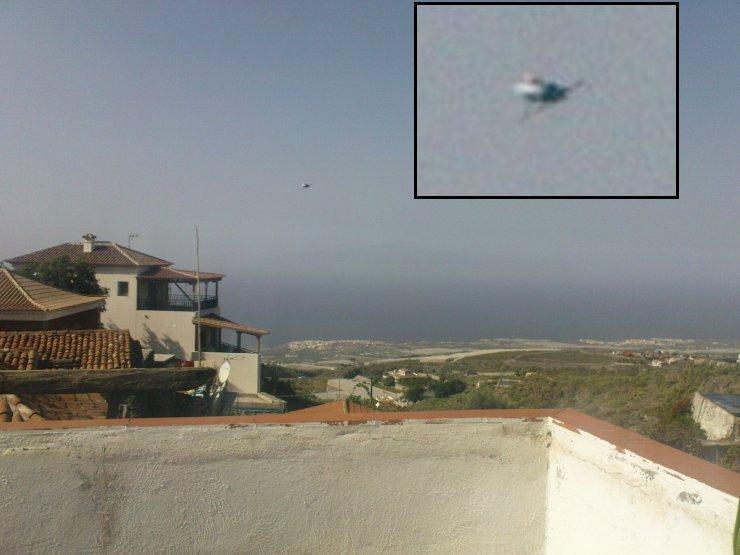 UFO -Tenerife, Spain