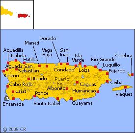 Map - Puerto Rico