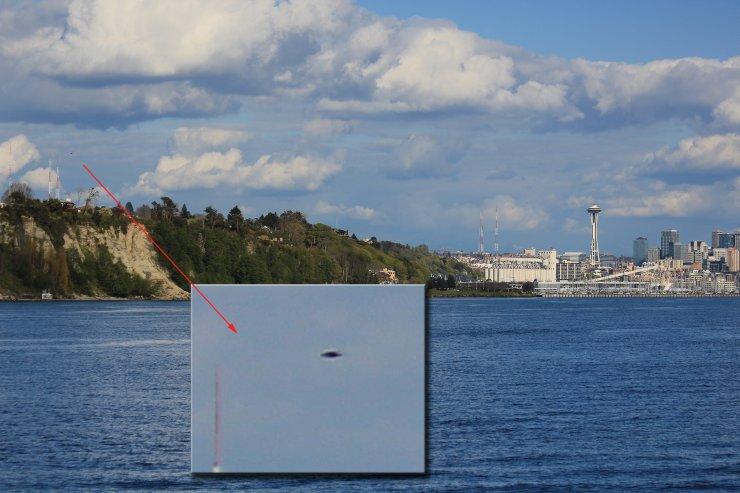 UFO - Seattle, Washington - 04-30-11