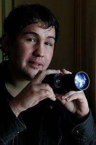 UFO hunter Dylan Sakari (18) - Picture: Martin Kennealey
