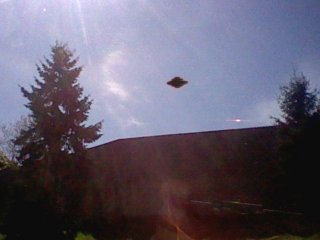 UFO over Seattle