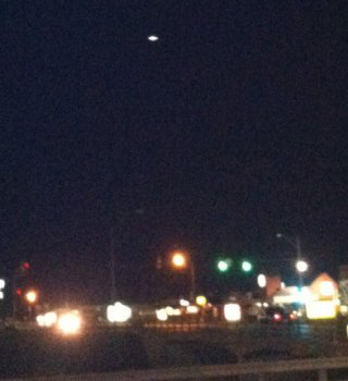 UFO over Euless, Texas