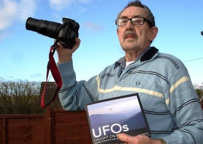 Ray gunning for alien visitors after filming mystery objects in the skies above Millwey Rise