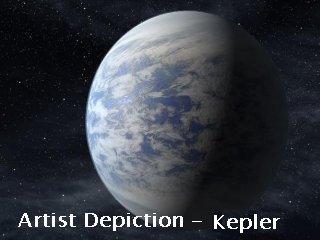 Keplar Depiction