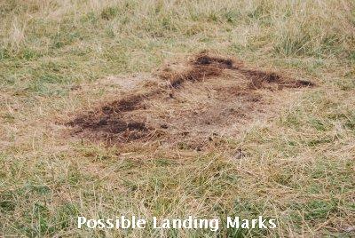 UFO landing marks