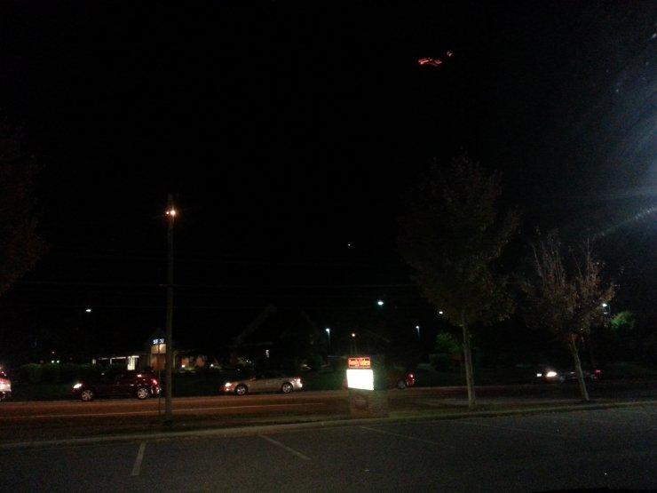 UFO - Hickory, North Carolina