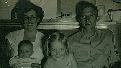 Judy Gibson Jackson (in Alabama USA) of her Mother, Dad, and her sisters Carolyn and Janice before he was lost