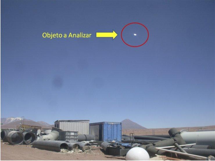 UFO over Chile
