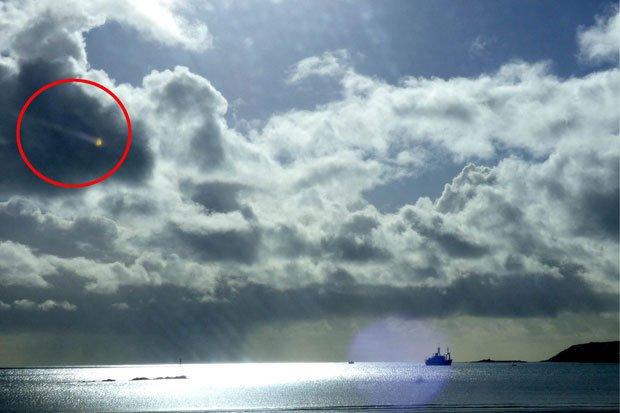 UFO - Cornish Sky