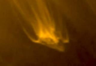 Is This a UFO Leaving Sun's Orbit?