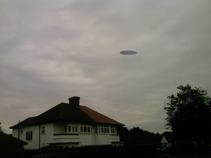 UFO over Great Britain