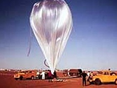A HIBAL high altitude balloon.