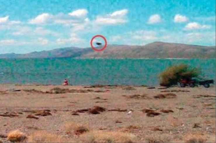 UFO - Lake Musters