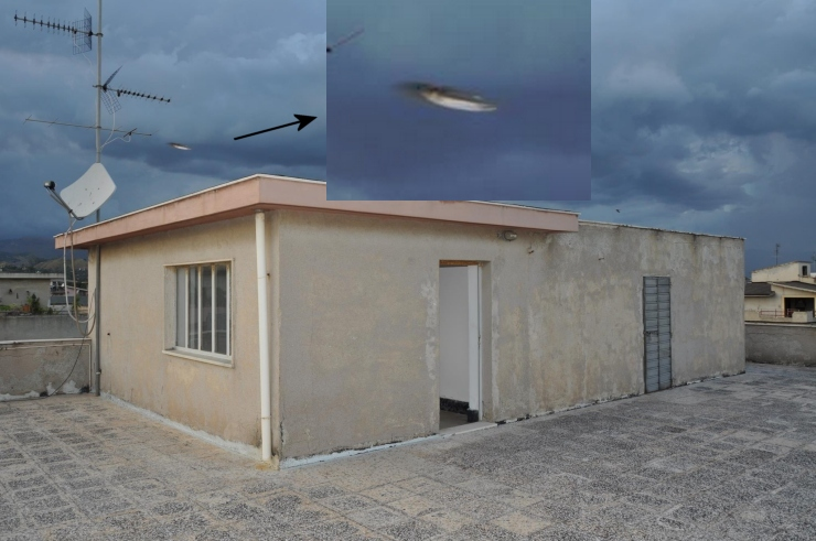 Unknown Flying Object over Italy