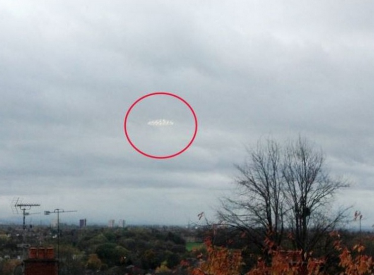 UFO over Manchester, UK