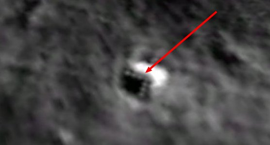 Object on Moon
