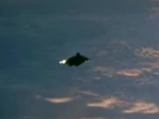 UFO Image of the Black Knight