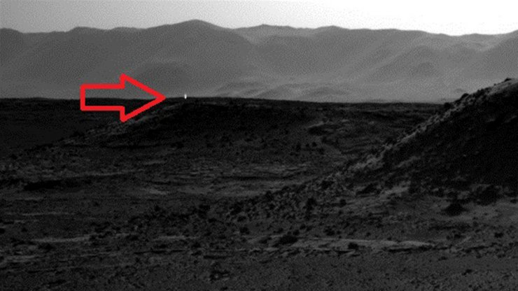 NASA Photograph of Mars