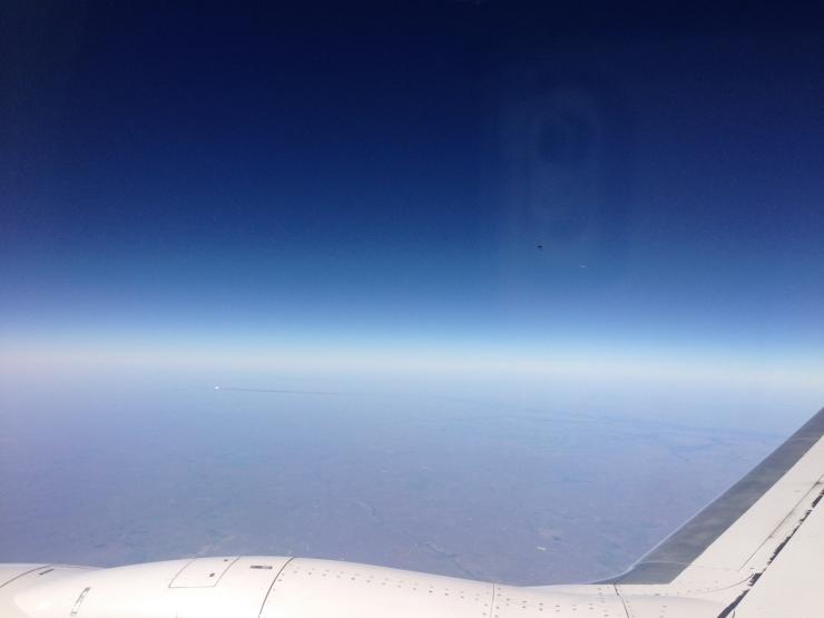 New York to California Flight UFO