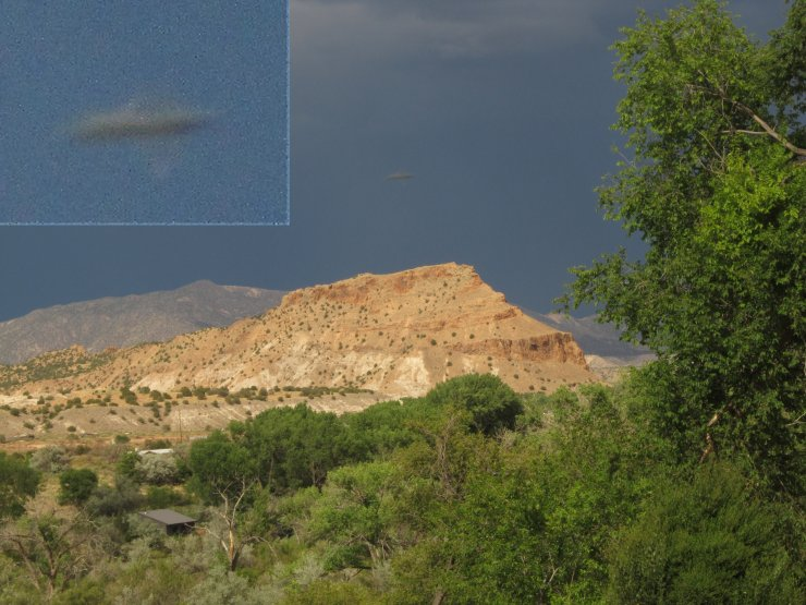 UFO over New Mexico