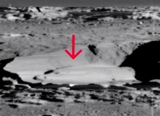 Risultati immagini per Alien Spacecraft in Manilius crater