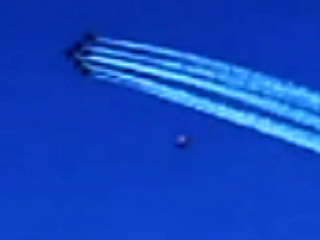 UFO at Blue Angels Show
