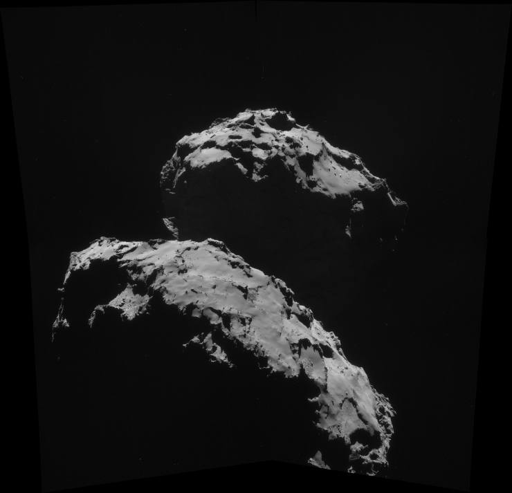UFO Sighted on Surface of Rosetta Comet