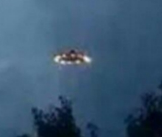 UFO over Houston