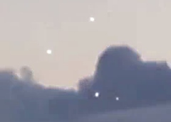 Paris, France - 4 UFOs are Captured on Video